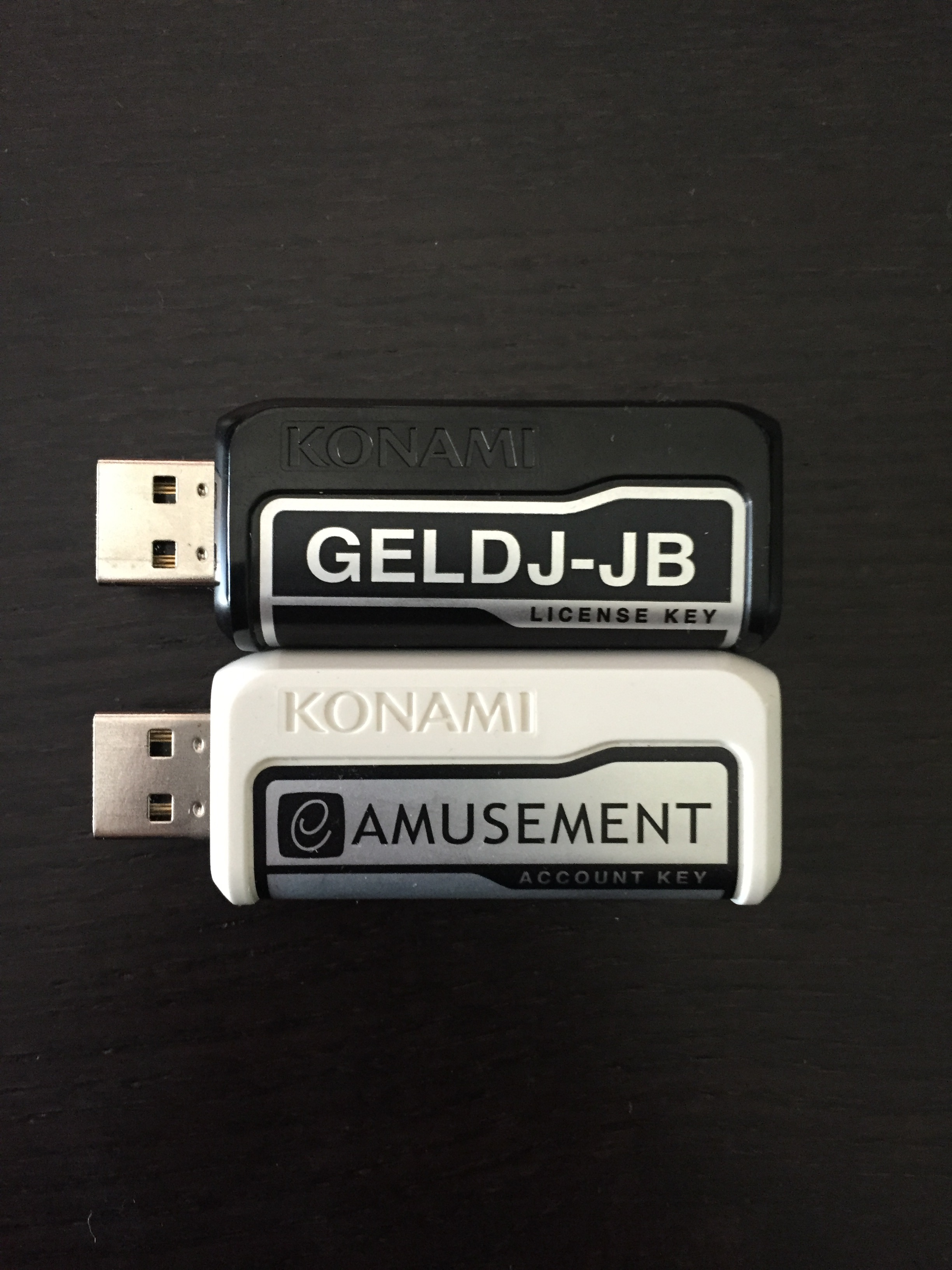 USB Security Keys (Front)